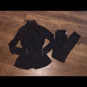 Lululemon Black Jacket & Pants